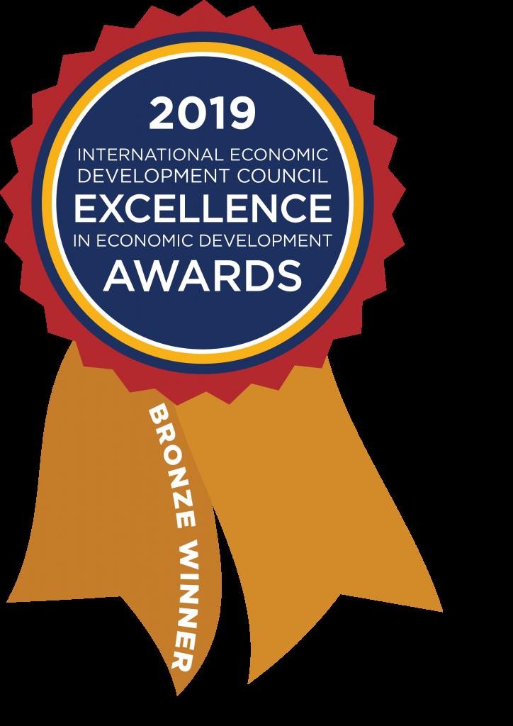 2019 International Economic Development Council Excellence in Economic Development Award - Bronze Winner